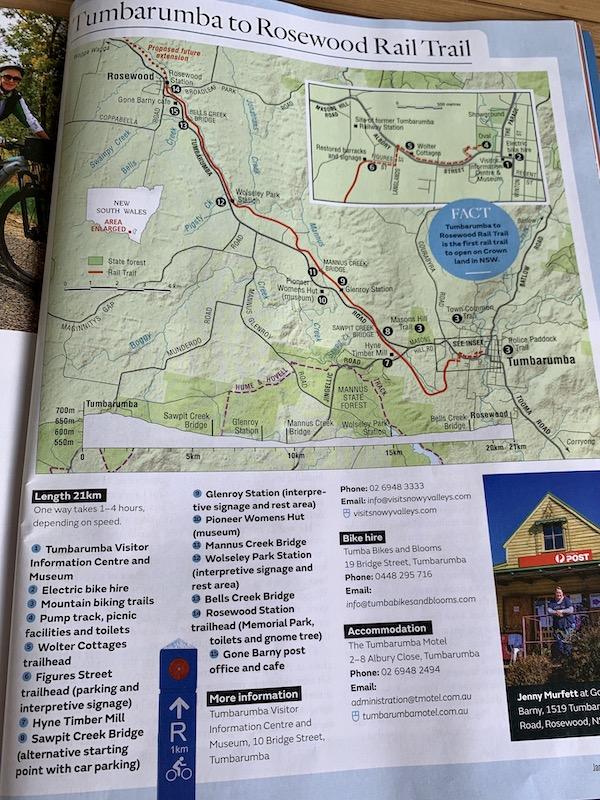map in Aust Geo